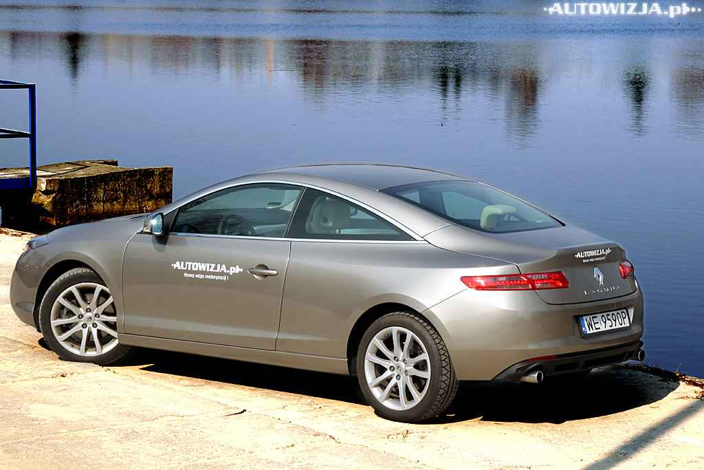 renault laguna coupe 3 5 v6 auto test. Black Bedroom Furniture Sets. Home Design Ideas