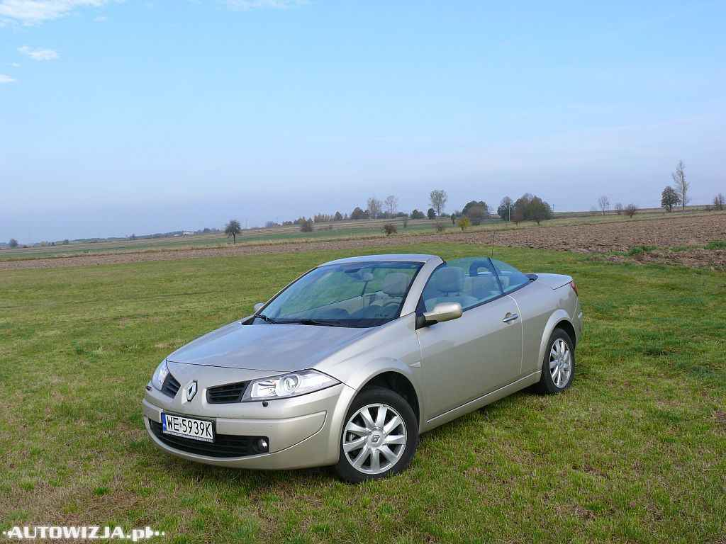 renault megane cc 2 0 dci auto test motoryzacja. Black Bedroom Furniture Sets. Home Design Ideas