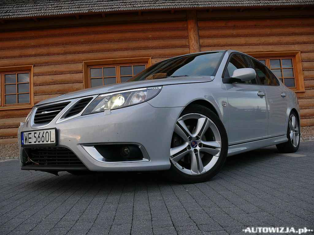 saab 9 3 sportsedan 2 8 turbo auto test motoryzacja. Black Bedroom Furniture Sets. Home Design Ideas