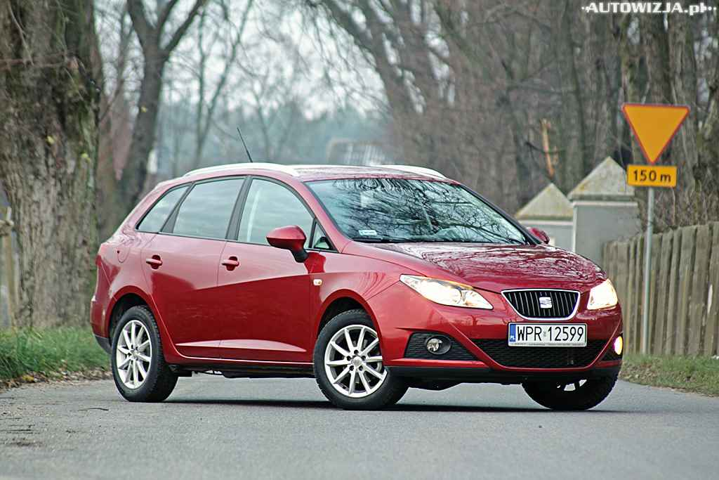 seat ibiza st 1 4 mpi style auto test motoryzacja. Black Bedroom Furniture Sets. Home Design Ideas