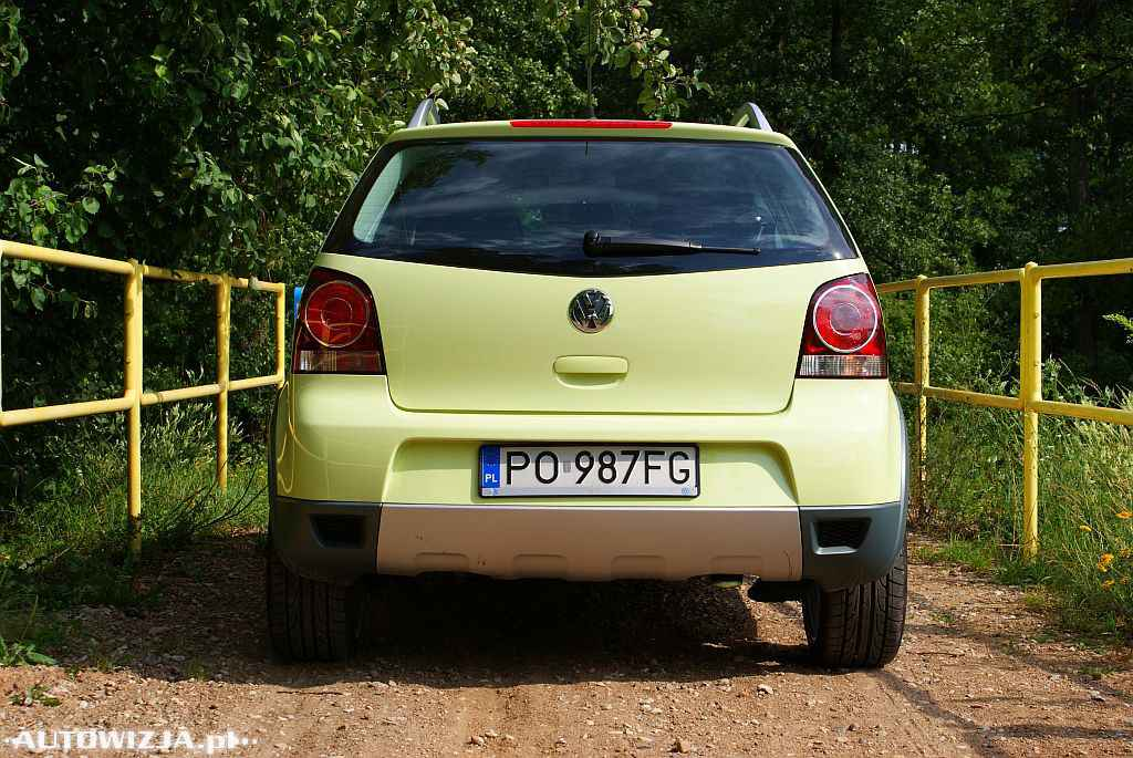 volkswagen polo cross 1 4 tdi auto test motoryzacja. Black Bedroom Furniture Sets. Home Design Ideas